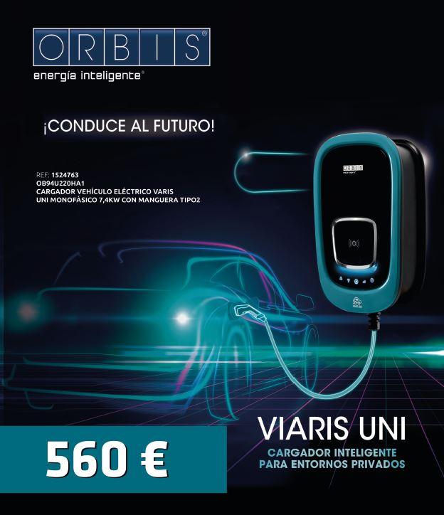 Promoción 560€ cargador VARIS UNI de Orbis