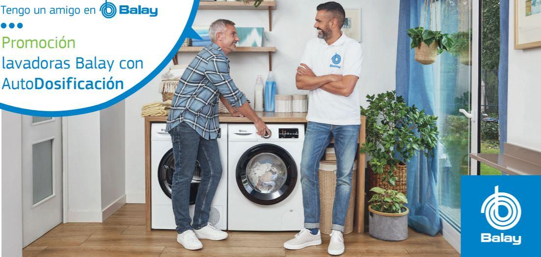 1 año de detergente y suavizante gratis con Balay si compras una lavadora con Autodisificación
