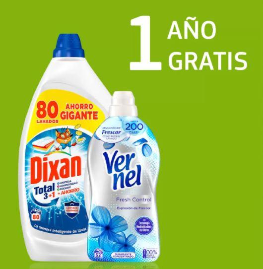 1 año de detergente y suavizante gratis con Balay