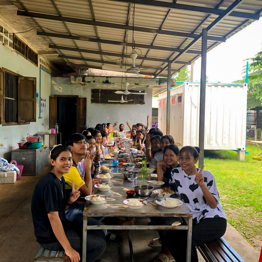 Essen für 35 Studierende
