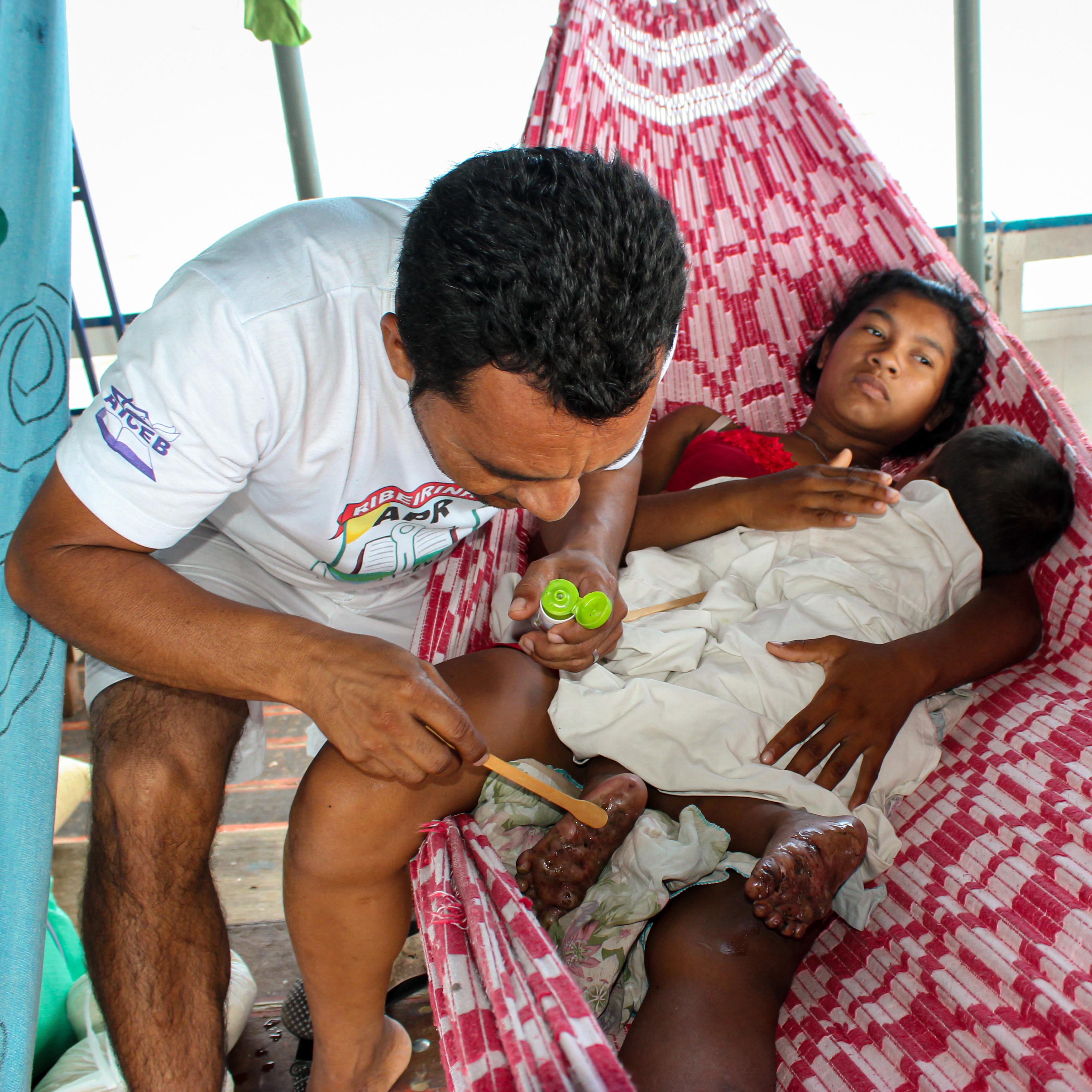 Medizinische Behandlung für Flussbewohner/innen