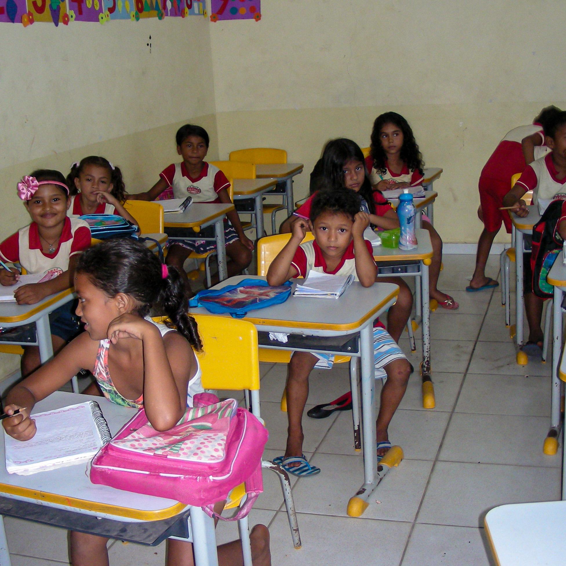 Förderung von zehn Kindern