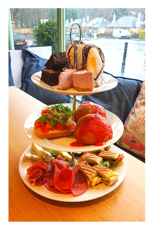 Italian afternoon tea available for delivery