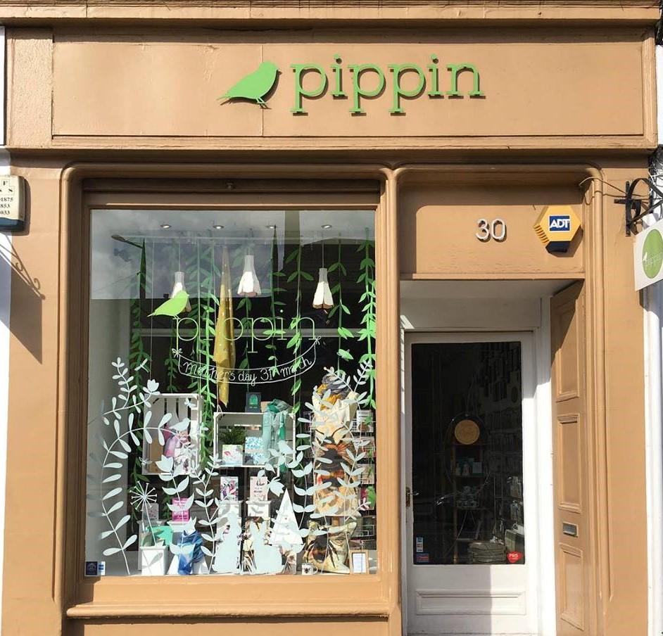 Pippin gift shop Haymarket Edinburgh