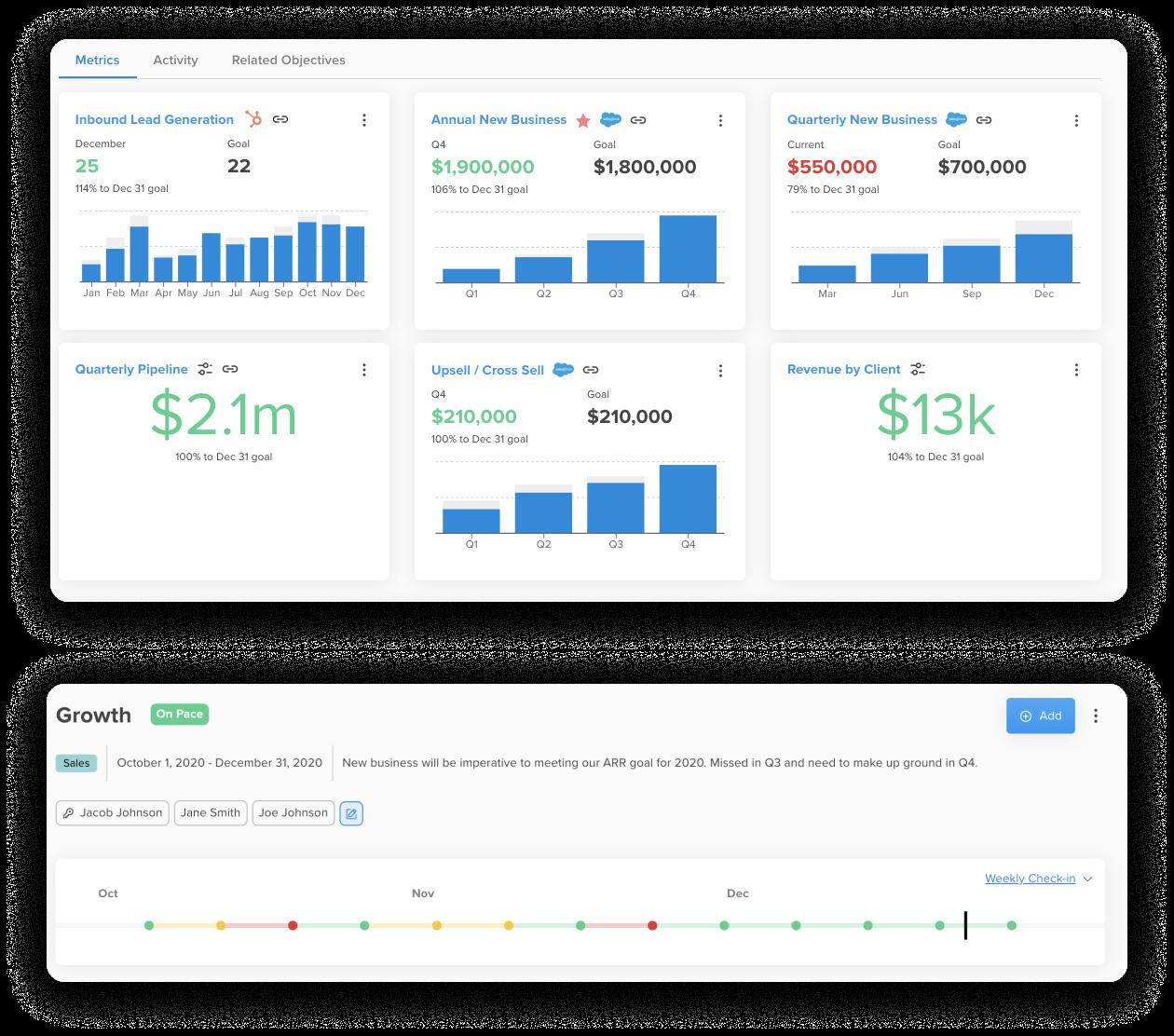Elate Product Screenshots