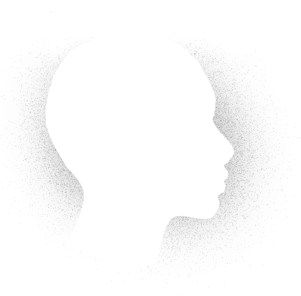 Head silhouette in monocrome features 6 blue hexagons featuring the words: Optimism, Growth, Confidence, Positive Self-talk, Work ethic, Resilience