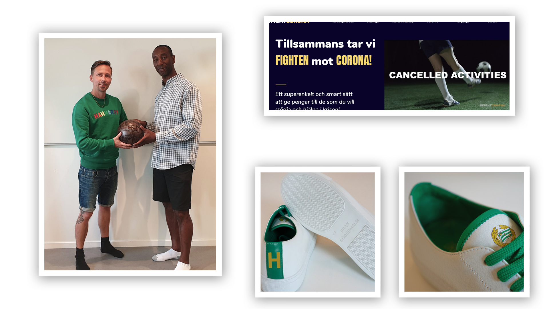 Fight Corona, Hammarby Sneakers & Galloway