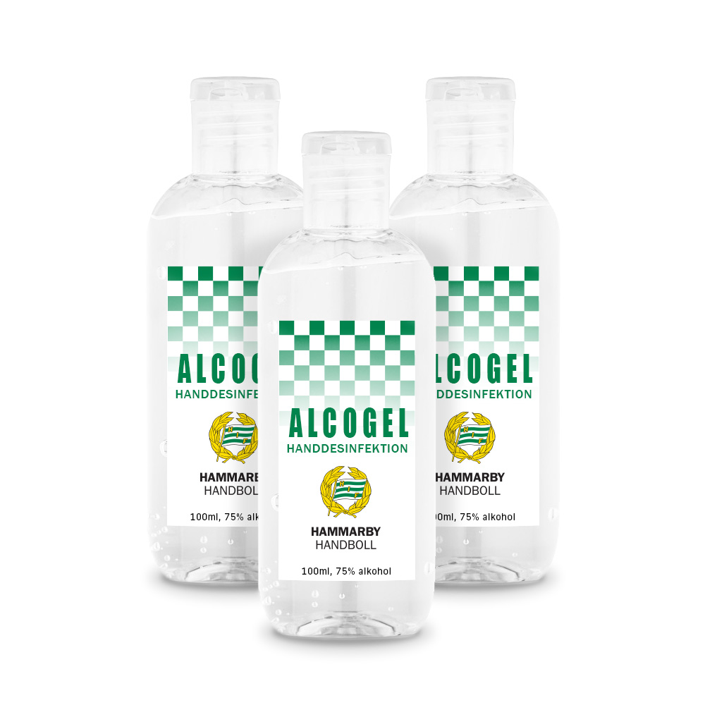Handdesinfektion Alcogel (3-pack)