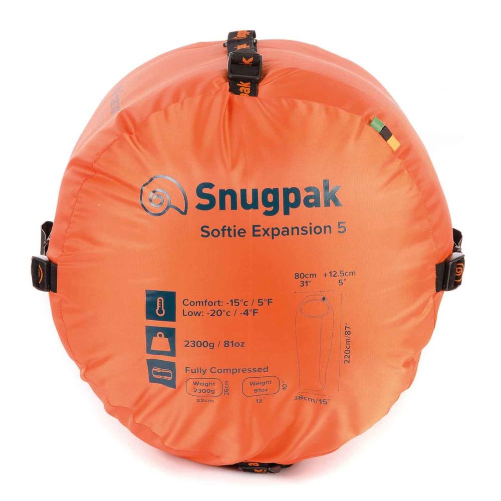 Snugpak sovsäck – Softie Expansion 5 Kiwi LH