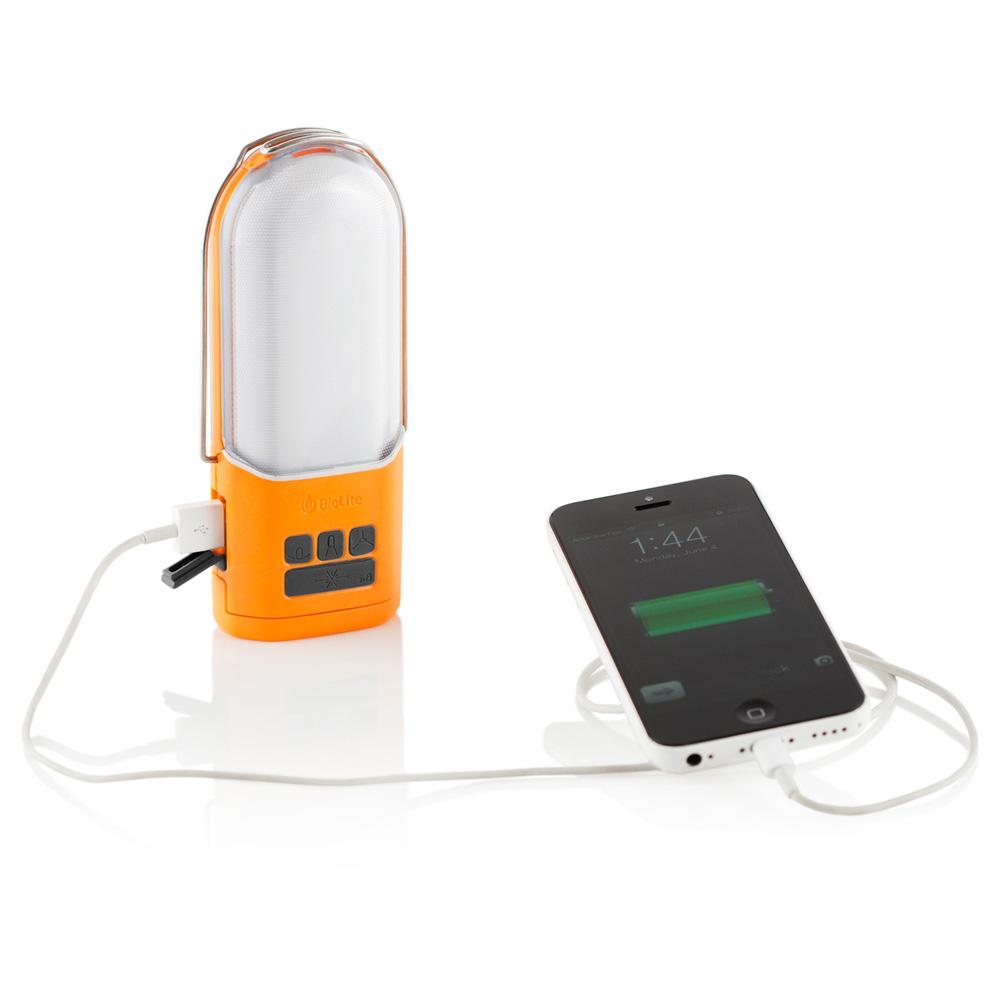 BioLite Powerlight – Hängande lykta / ficklampa med powerbank