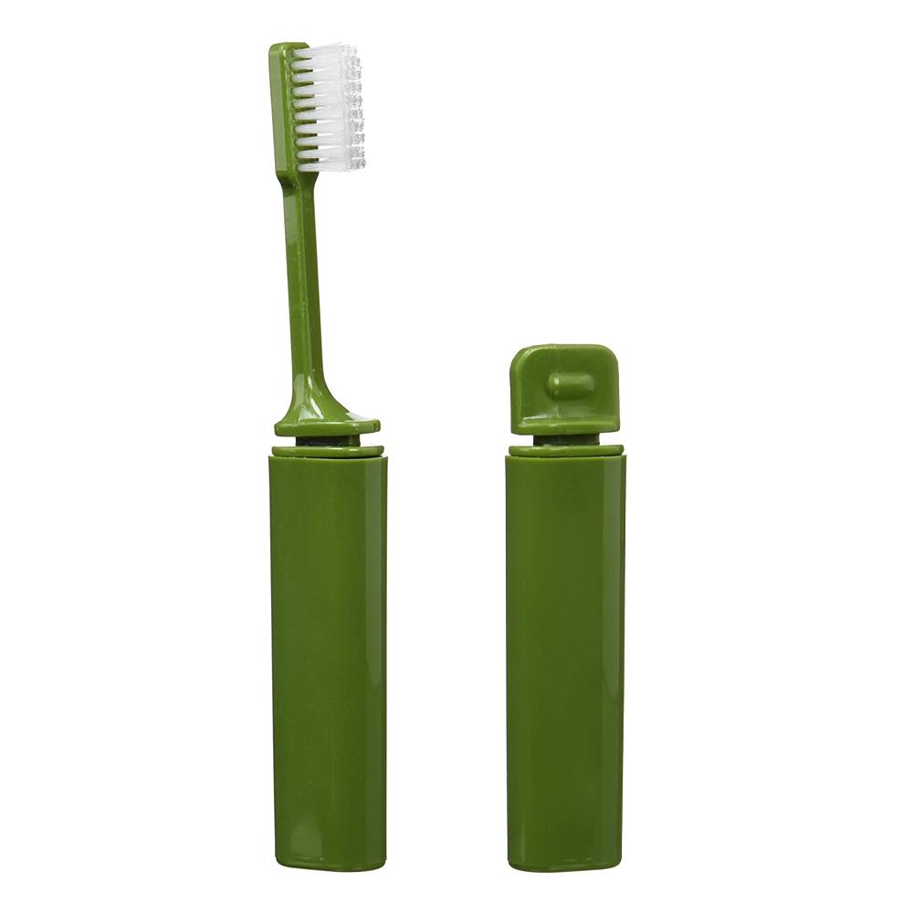 Hopfällbar tandborste