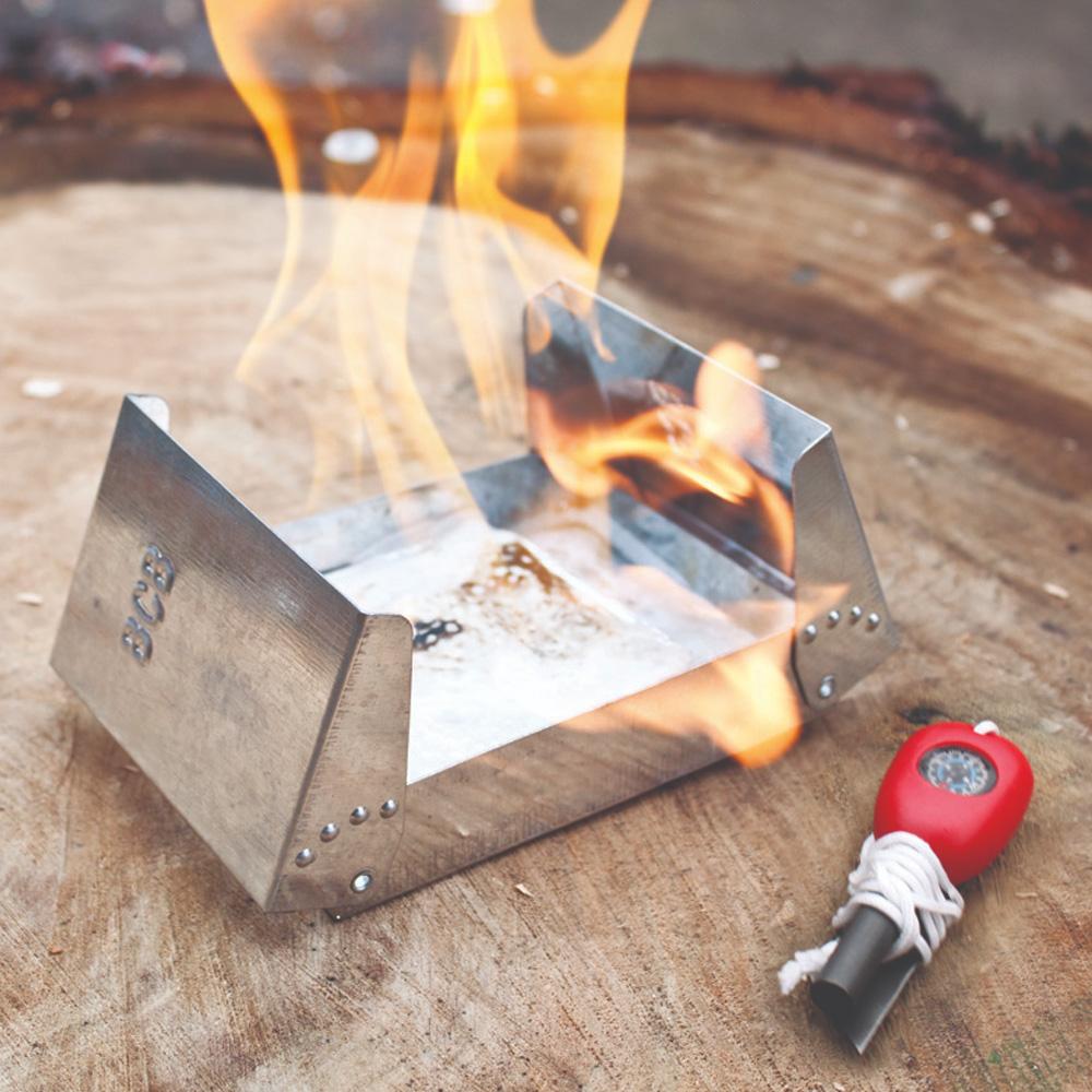 Fire Dragon nödkök med bränsle och tändstål