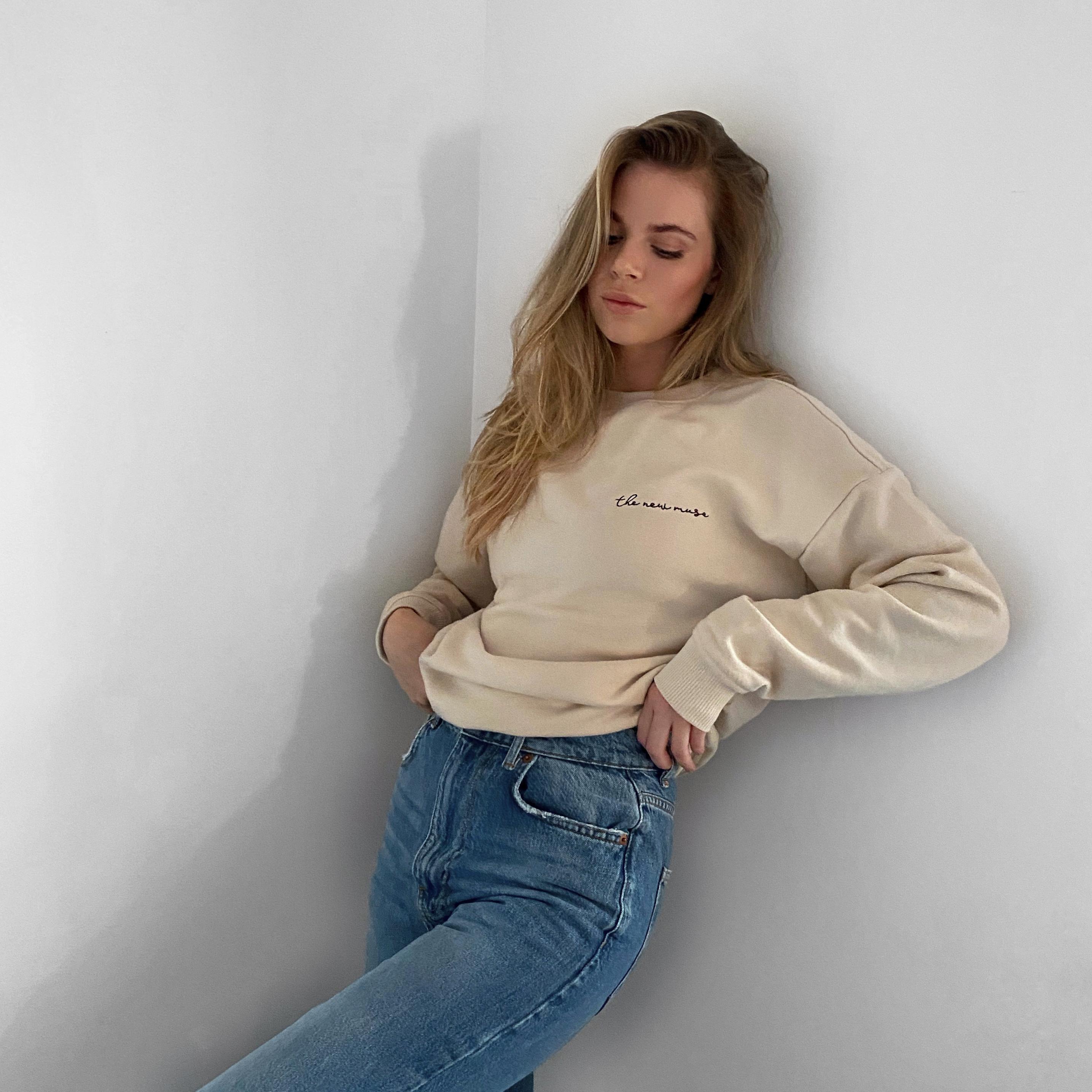 "Sweatshirt ""The New Muse"""