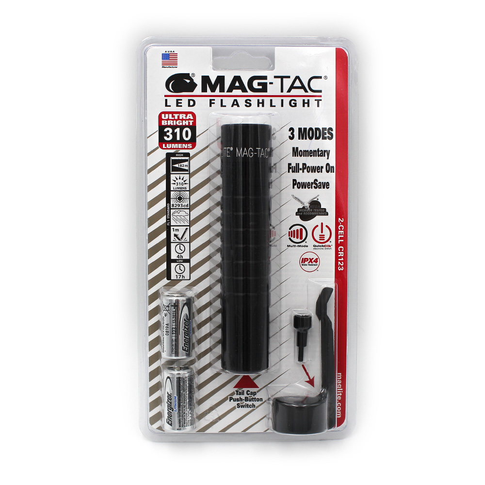 MAG-TAC taktisk ficklampa –LED svart