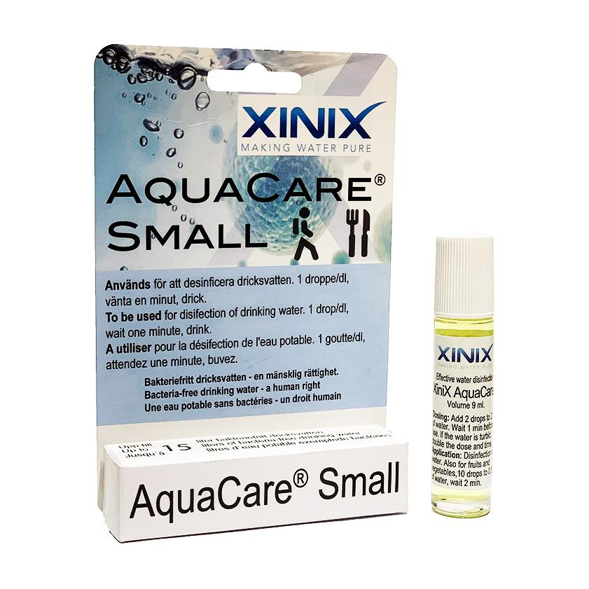 XiniX Aquacare 10 ml vattenrening