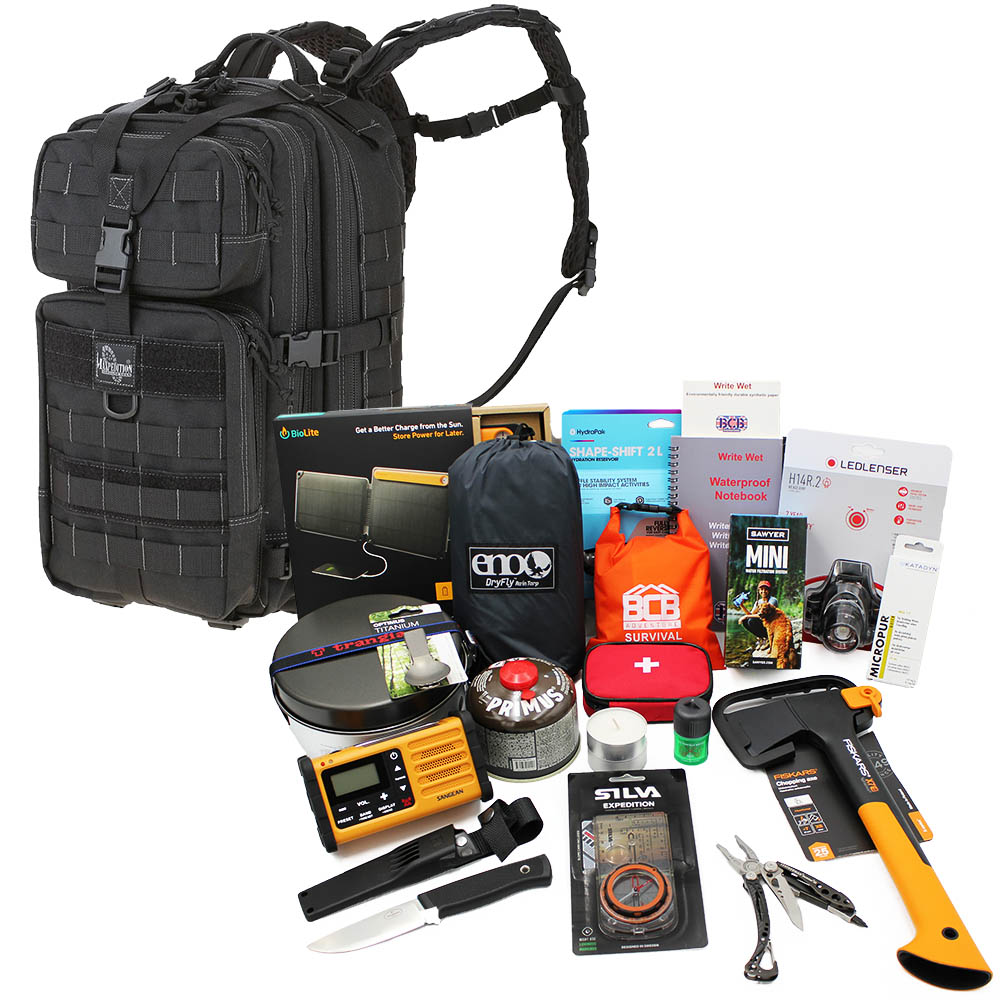 Bug Out Bag Vildmark Premium