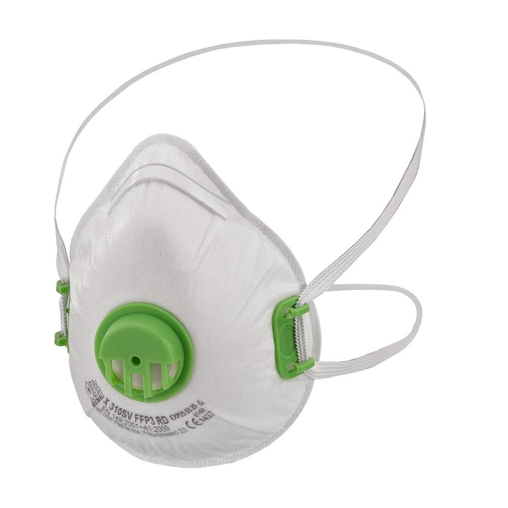 Andningsskydd FFP3 med ventil