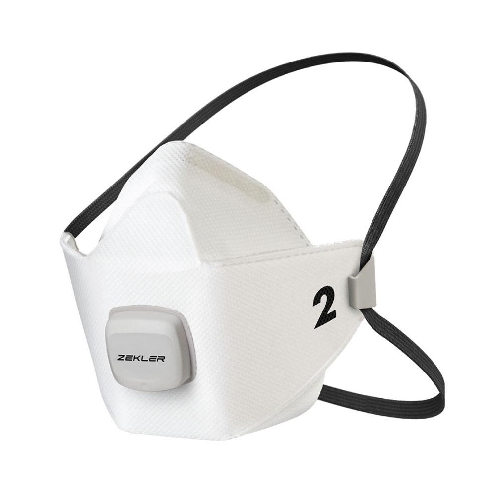 Andningsskydd FFP2 halvmask med ventil