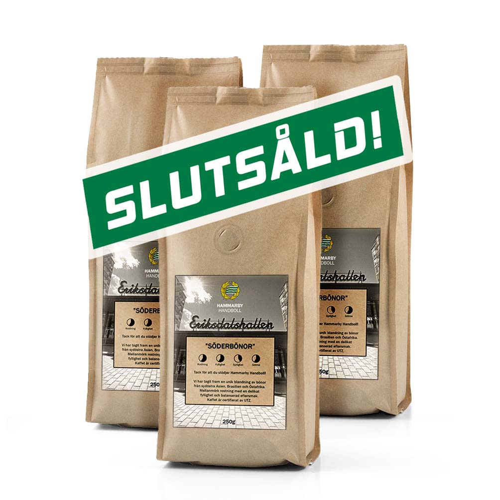 """3-pack """"Söderbönor"""" Hammarbykaffe"""