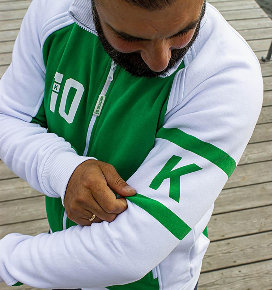 K10 Zip-tröja