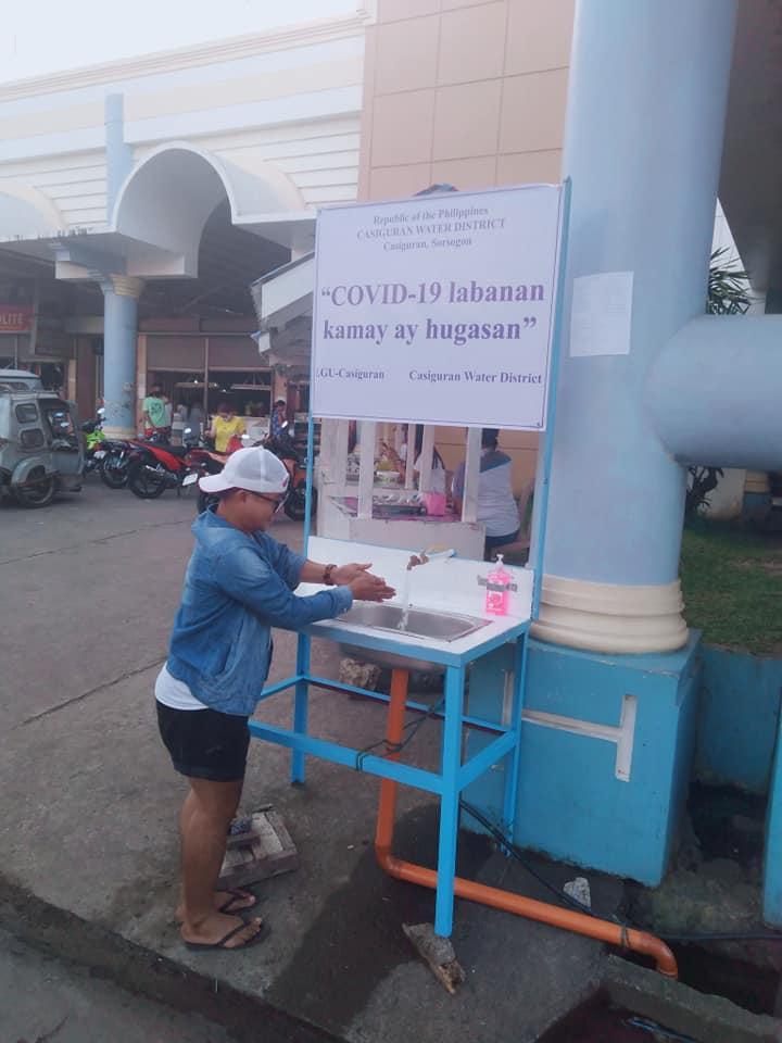 Public Handwashing Stations