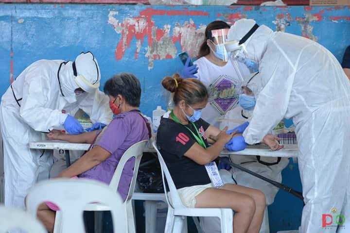 Barangay Mass Testing Schedule