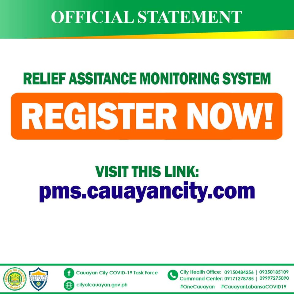 Relief Monitoring System (RAMS)