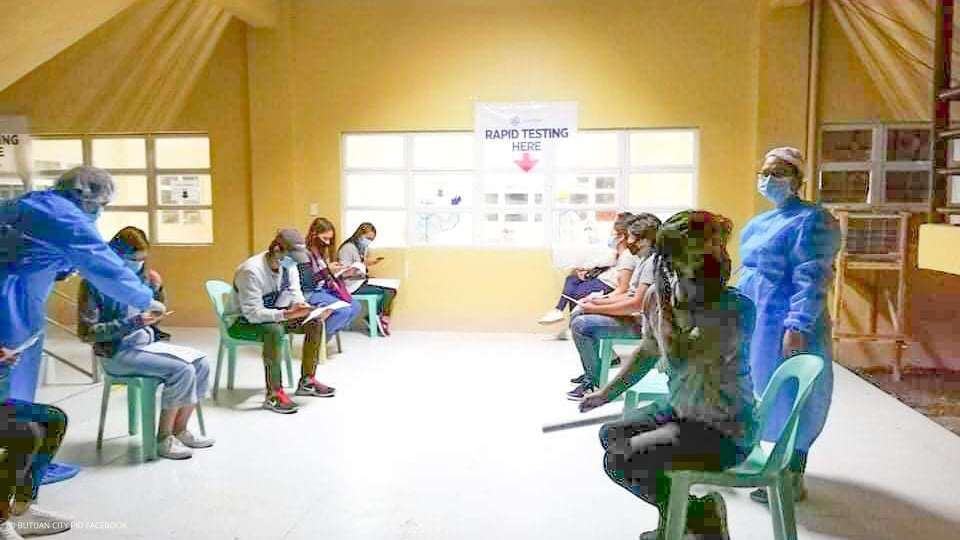 Stranded Students Undergo Rapid Diagnostic Test upon Return to Butuan