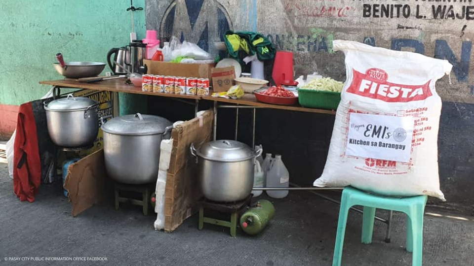 Kitchen sa Barangay
