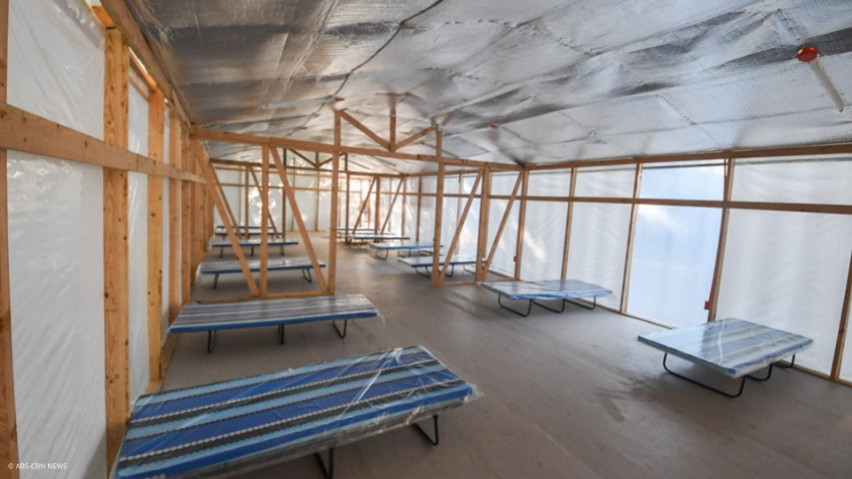 1,000-bed Isolation Facility