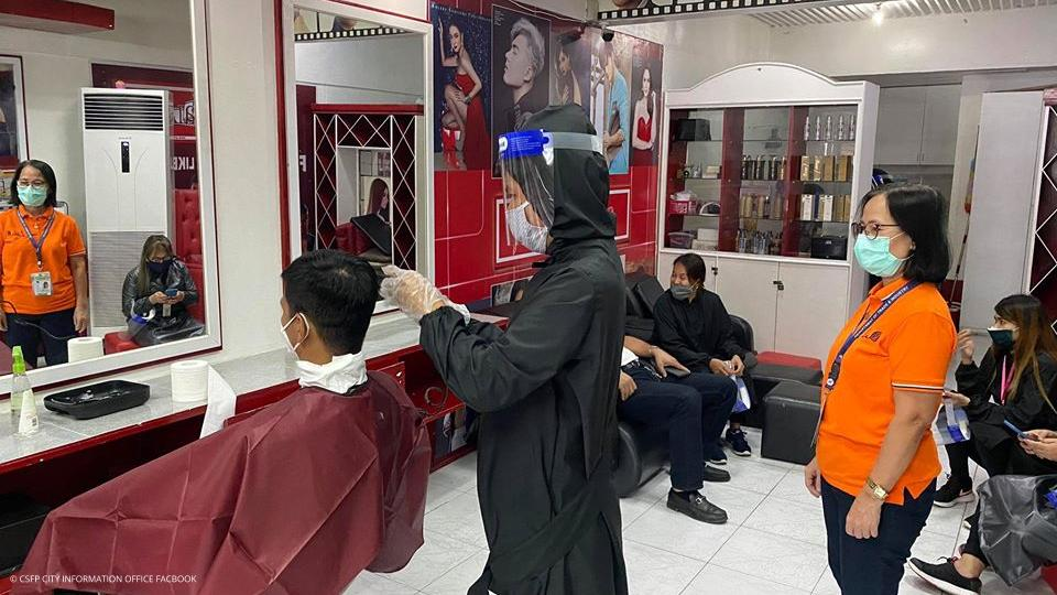 Infection Control Demo in Salons and Barbershops