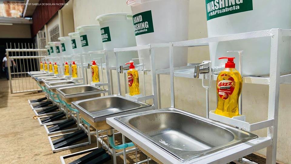 Foot-Pedal Handwash Facilities