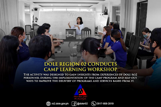 CAMP Learning Workshop Conducted for DOLE RO2 Employees
