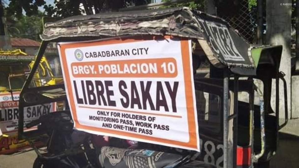 Libreng Sakay sa Kada Barangay