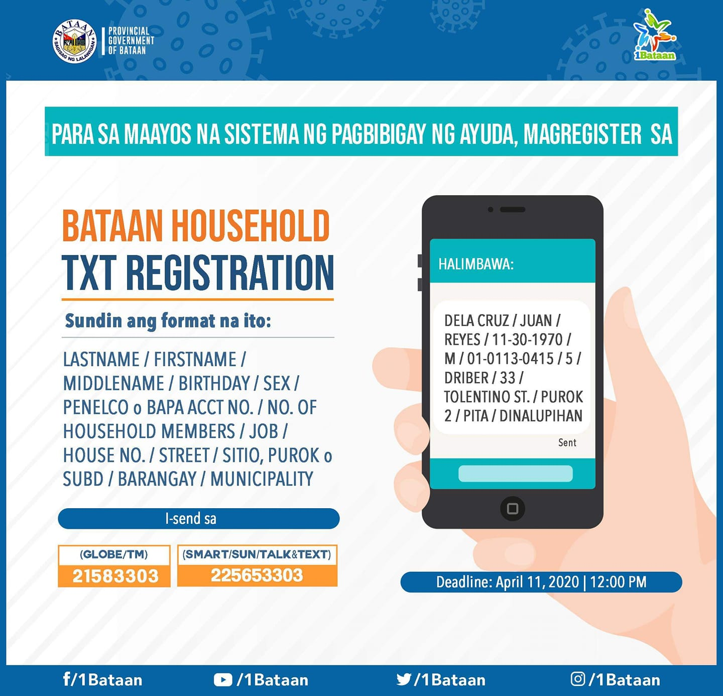 Mobile App Aided Bataan Household Registration
