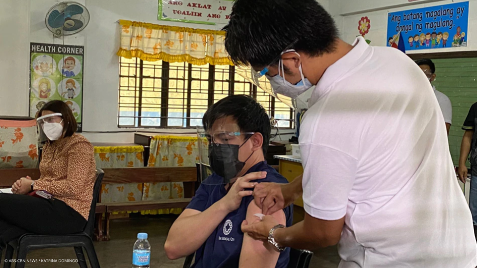 Pasig conducts simulation of COVID-19 vaccination process