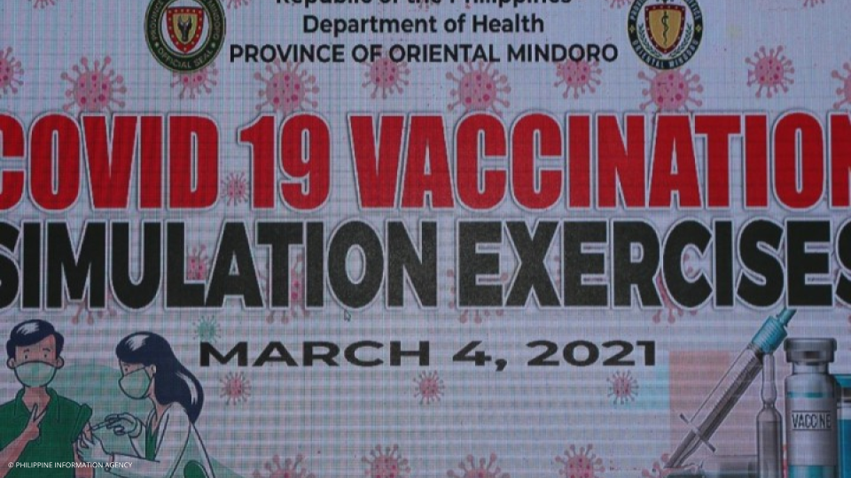 Oriental Mindoro holds COVID-19 vaccination simulation exercise