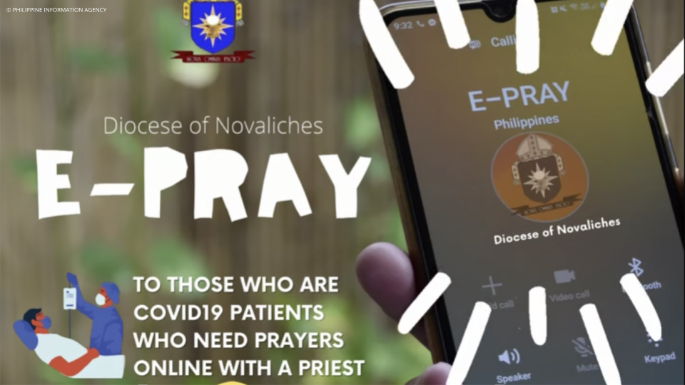 Diocese of Novaliches launches 'E-Pray' for COVID-19 patients