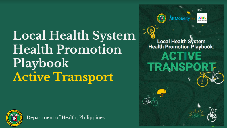 Local Health System Playbook for Active Transport