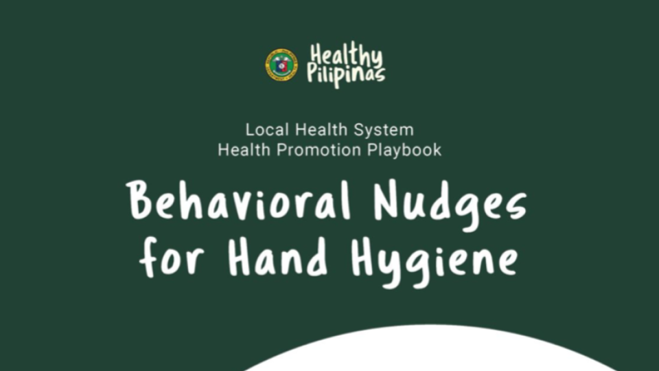 Behavioral Nudges for Hand Hygiene