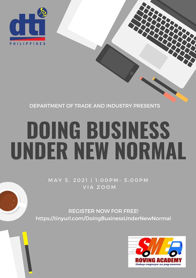 DTI to hold free webinar for aspiring entrepreneurs