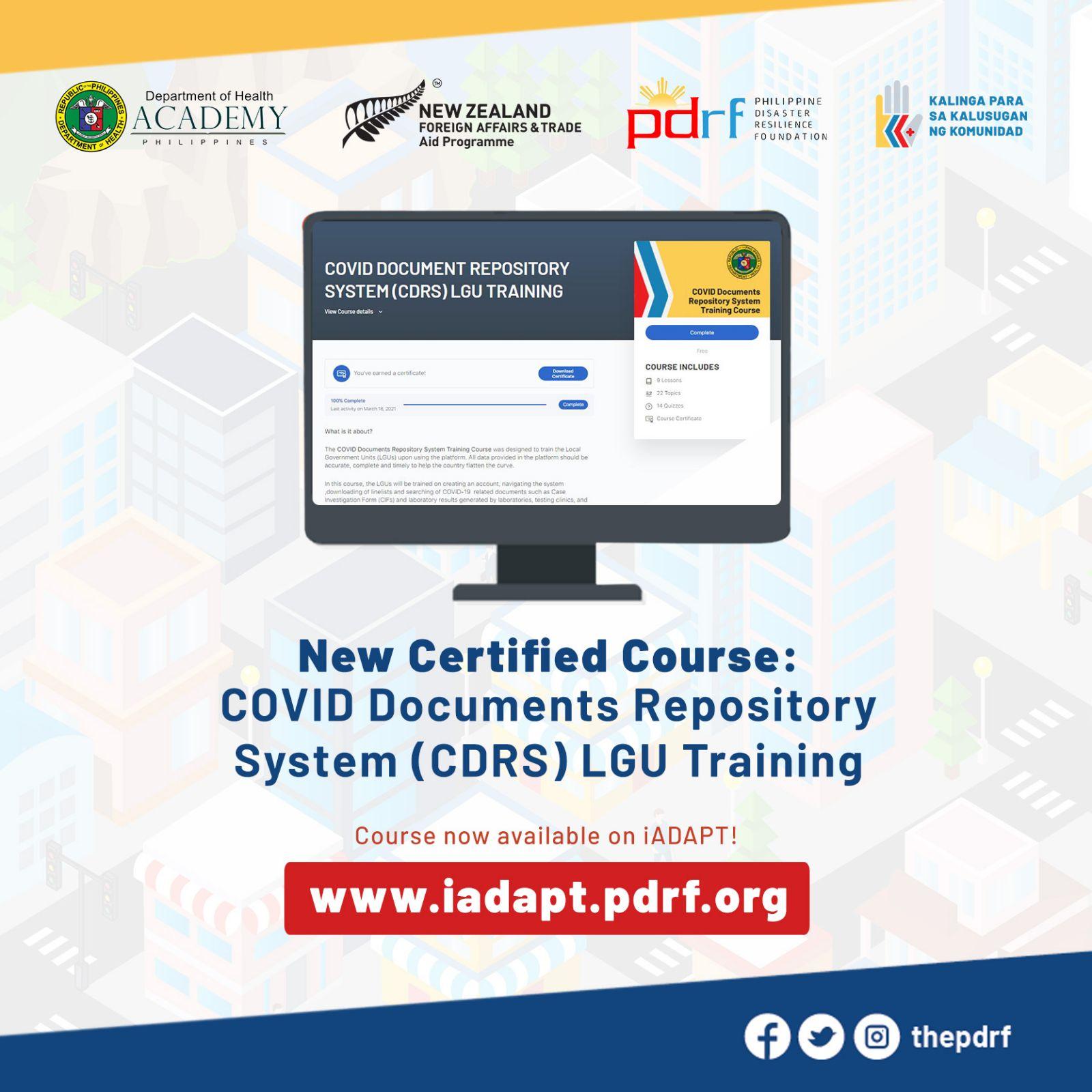 COVID-19 ICT Training Courses