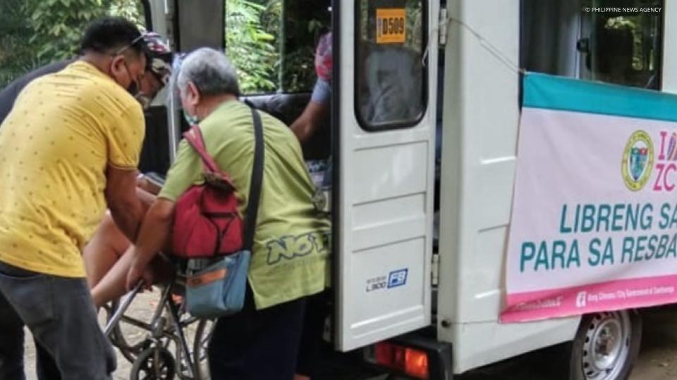 Zamboanga City offers free rides to ramp up vax drive