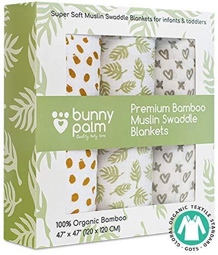 Органические бамбуковые муслиновые пеленки