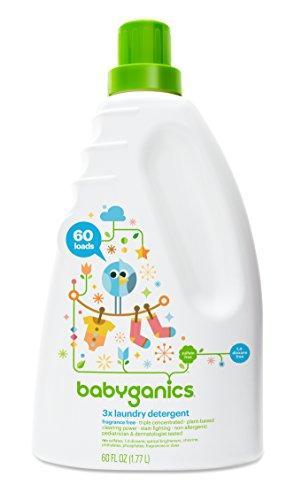 """Средство для стирки детского белья и одежды """"Babyganics 3X"""", без запаха"""