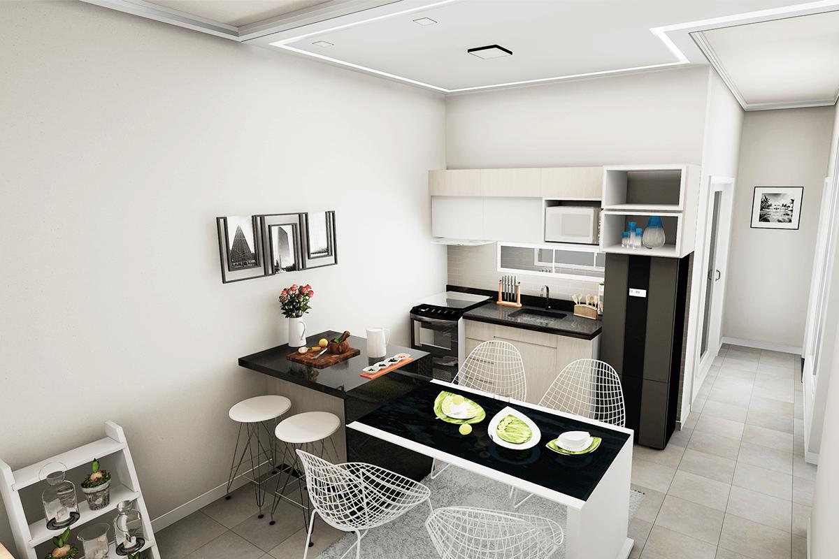 cozinha ampla-villagiocerquilho