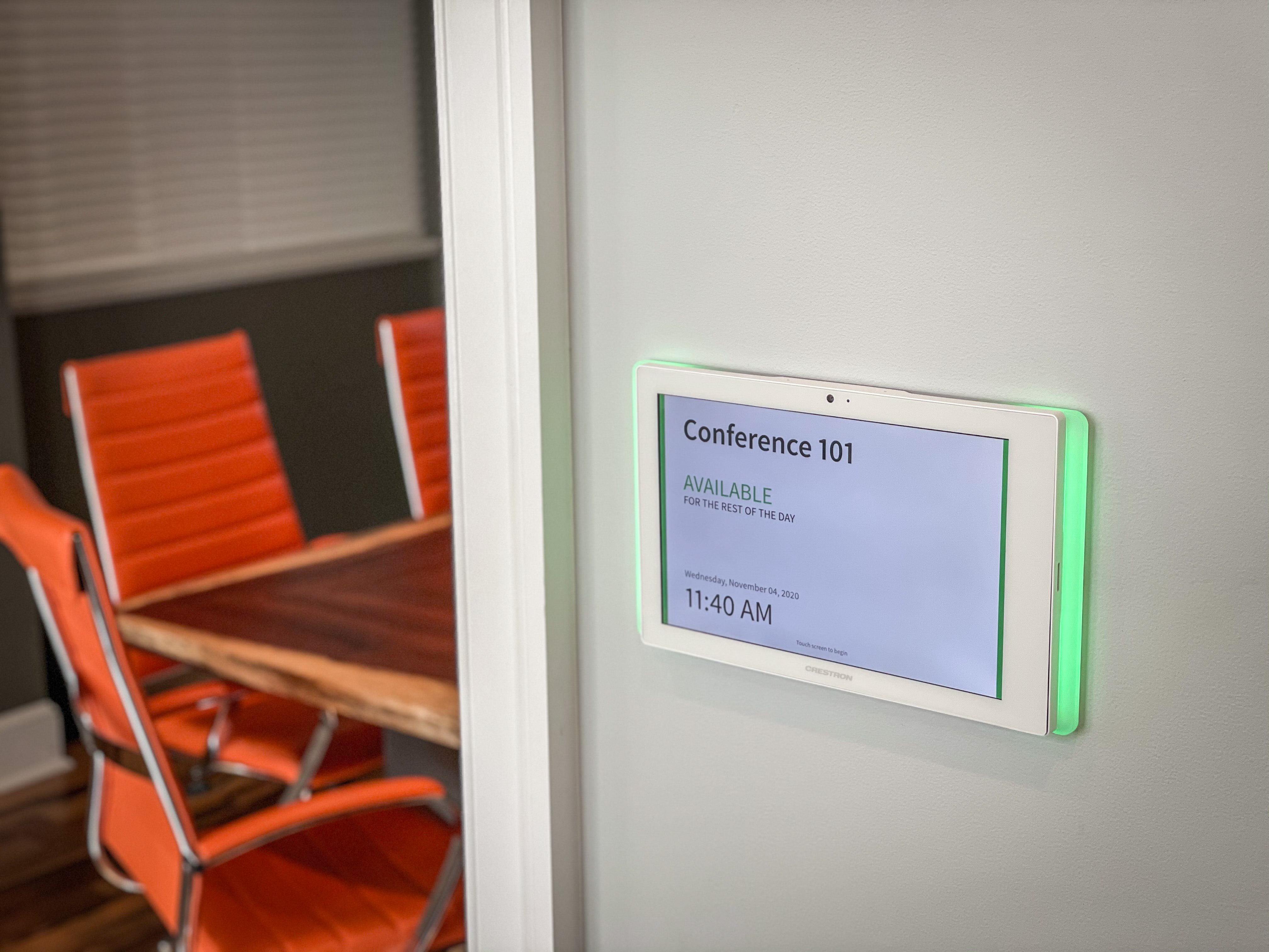 Room scheduling device
