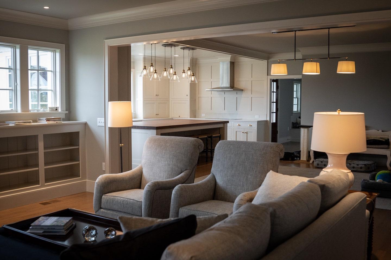 Lititz Residence family room