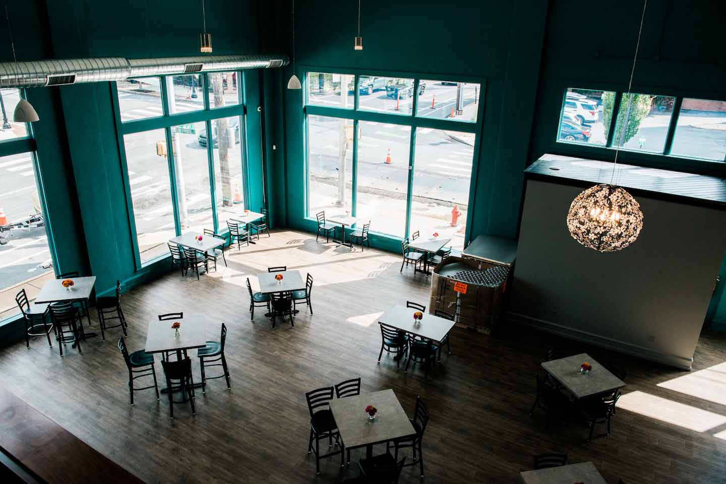 brewery dining area