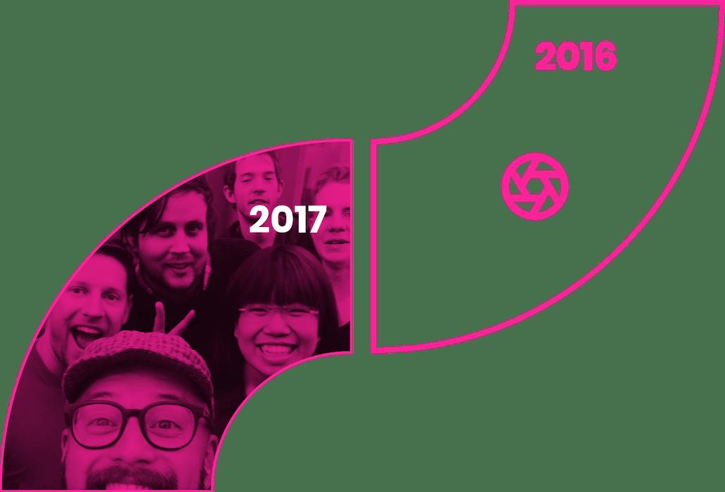 2016-2017 Element Human Timeline